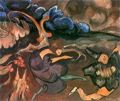 Composition with a dancer 1920 Stanislaw Ignacy Witkiewicz