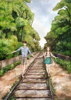 55번째 이미지 Cute Couple Drawings, Cute Couple Art, Anime Couples Drawings, Love Drawings, Love Cartoon Couple, Cute Love Cartoons, Anime Love Couple, Cute Anime Couples, Cute Couple Wallpaper