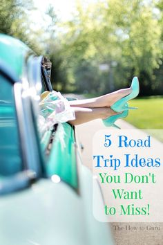 The ULTIMATE list from The How-to Guru on family ideas for 5 places to visit this year in the south on a fun road trip .....