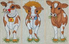 download vacas lindas ~ download free designs embroidery