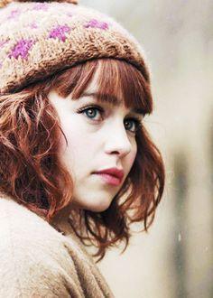 Red headed Emilia Clarke. She looks like Arial if she cut her hair