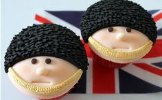 Trooping The Colour Cupcakes, £POA, Victorious Cupcakes