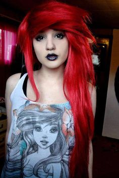Teen time Emo redhead punk