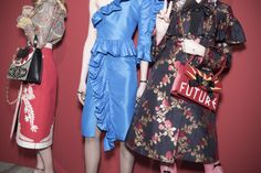 Inside Alessandro Michele's Wildly Colorful Spring Show for Gucci Photos | W…