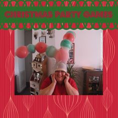 Learn to play The Reindeer Game and more Christmas party games at www.intelligentdomestications.com