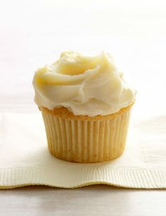 White Chocolate Cupcake Recipe (This white chocolate cupcake recipe is subtly sophisticated and only sparely sweet. The perfect sort of easy elegance for any occasion.)
