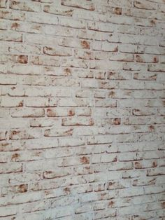AS CREATION DISTRESSED BRICK EFFECT RED & WHITE WALLPAPER 9078-13 | eBay