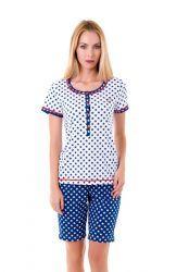 Pijama mujer igual que el de niña. Lohe. Moda en Familia.