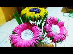 Cara Membuat Bunga Daisy dari sedotan plastik - YouTube  6e7091440d
