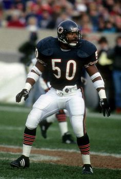 Mike Singletary, one of the nicest guys you'll ever meet. But, when he put on that helmet, he became SCARIER than Jason, Michael, or Freddy.