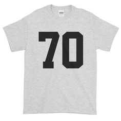 Team Jersey 70 Short sleeve t-shirt