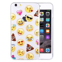 Soft TPU Protective Case Back Cover Shell (Mix Emoji)