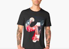 'Harry Kane England football' Premium T-Shirt by Theartista Harry Kane England, Football S, England Football, V Neck T Shirt, Classic T Shirts, King, Hoodies, Mens Tops, Sweatshirts