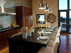 Kitchen Lighting Design Tips : Rooms : Home & Garden Television