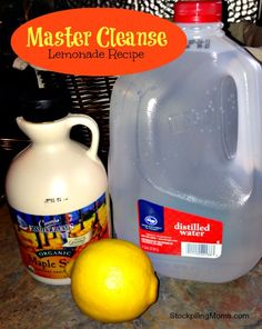 Master Cleanse Recipe used in killing candida