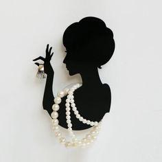Shadow Jewelry Holder