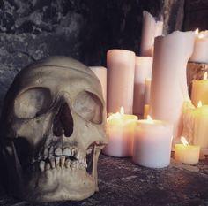 Screaming Skull, Pillar Candles, Skulls, Beautiful, Taper Candles, Skull