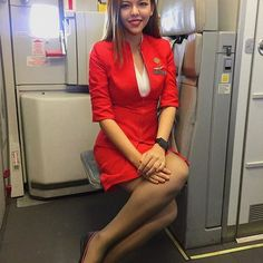 Hot Flight Attendant ✈✈✈✈ ✈ ✈✈✈✈