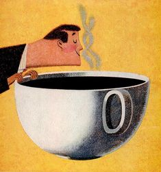 The fragrance of coffee