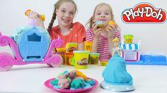 Золушка и печенье из Плей До (Play Doh). Игры для девочек с подружками А...