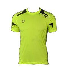 Mens Bike Shirts Slim Fit Workout Shirts Male T-shirt Men Quick Dry Shirt