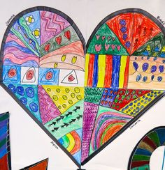 Cassie Stephens: In the Art Room: LOVE This Romero Britto Sub Plan Collaborative!