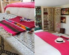 Nanette Lepore's summer house - just as fabulous as her clothes  Open closet inspiration