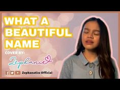 Zephanie sings What A Beautiful Name by Hillsong What A Beautiful Name, Name Covers, Spiritual Music, Praise And Worship, Fb Page, Christian Music, Singing, January, Spirituality