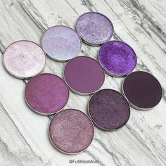 Makeup Geek Purple Eyeshadows   Futilities and More