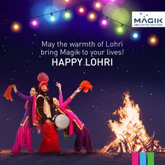 This Lohri, it's not just the fire that burns the brightest. MAGIK LED melts away the dark winters with warmth, and lights up your life in hues of happiness, joy and laughter. Happy Lohri everyone! Fun Quotes, Best Quotes, Rakhi Greetings, Ek Onkar, Happy Pongal, I Love You God, Good Night Gif, Girls Dp Stylish, Happy Friendship Day