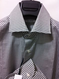 NWT$335  Caliban Italy luxury Sartorial elegant beautiful shirt,15.75/40, M/50   #Caliban