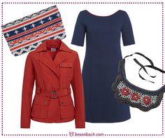 #Maritim #Blue & #Red #Essential #Look by Brigitte von Boch #bevonboch