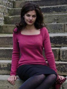 Rowan Knitting Sweater Pattern - Hetty