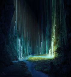 """The cave"" by crackbag on deviantart"