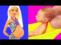 Barbie Bebe, Barbie Dolls Diy, Barbie Doll House, Diy Doll, Barbie Clothes, Barbie Stuff, Doll Stuff, Blythe Dolls, Best Baby Doll