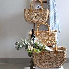 Our rectangle, flat based market baskets made from water hyacinth comes in three great sizes. This is the perfect tote for summer, for the farmers market Beach Basket, Water Hyacinth, Market Baskets, Picnic In The Park, Homewares Online, Organic Living, Home Decor Online, Happy Day, Home Decor Inspiration