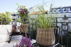 Skap din egen stil og fyll balkongen med planter og tilbehør.