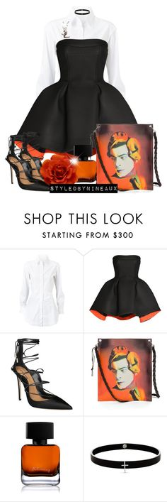 """""""Artistic Vibes"""" by styledbynineaux ❤ liked on Polyvore featuring Alaïa, Parlor, Dsquared2, The Collection by Phuong Dang, Lynn Ban and Yves Saint Laurent"""
