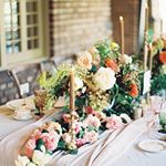 Warm fall colors ethereal details and enchanting florals combine to make this autumn inspiration shoot from christinasloanevents one of the most stunning everPhotography photosbyheart Venue clubhouseonhighland Event Planning christinasloanevents Floral thorneandthistle Stationery alexflydesigns Calligraphy alexflydesigns Wedding Cake cakesbykimllc Rentals erubirmingham Linens partytableslinensanddrapery Hair lynseyrichardson Makeup lynseyrichardson Vintage Rentals teaandoldroses F...