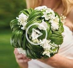 Bride white and green grass- View Wedding 2018 - Summer Wedding Decorations, Summer Wedding Bouquets, White Wedding Flowers, Bride Bouquets, Bridal Flowers, Floral Bouquets, Floral Wedding, Boquet, Artificial Bridal Bouquets