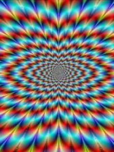 Rainbow Optical Illusions Art Trippy Op Illusion Wallpaper