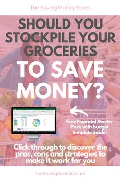 """Have you ever wondered why some people have a """"mini grocery store"""" in their basement? Do you have any idea … Frugal Living Tips, Frugal Tips, Ways To Save Money, Money Saving Tips, Make It Work, Budgeting Tips, Money Management, Grocery Store, Basement"""