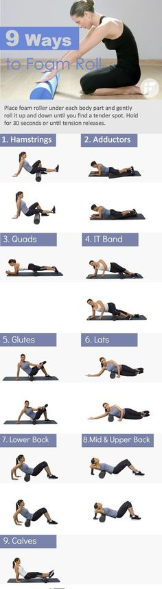 the best exercises you can do with a foam roller to lose weight . From the physical therapist #weightloss #loseweight #workout #foamroller #fitness #healthfood #diet