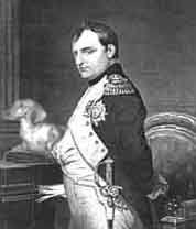 NAPOLEON BONAPARTE and FAUSSETTE ( my mom's friend had one named Napoleon!)
