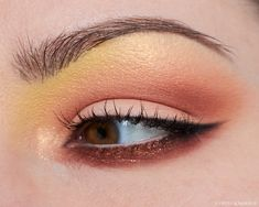 A warm look using the Menagerie Cosmetics Pastel Pup Palette, the Natasha Denona Bronze Palette, and a couple of singles from Terra Moons Cosmetics.