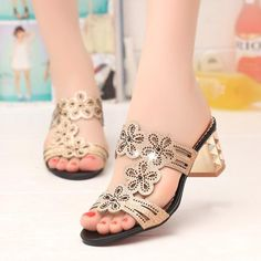 Women Sandals Summer Fashion High Heel Sandals Crystal Shoes Rhinestone Slippers – #sandals #sandalsheels #sandalssummer #sandalsoutfit #sandalsflat #sandalsoutfitcasual #sandalsoutfitsummerchic #heelsclassy #heelsprom #heelsoutfits Shoes For College, Sandals Outfit Summer, Crystal Shoes, Heels Outfits, Prom Shoes, Belts For Women, Womens Slippers, Peep Toe, High Heels