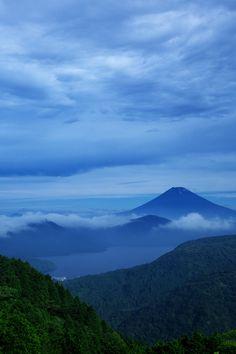 #his_blue  Mt.Fuji