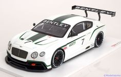Bentley Continental GT3, Concept Car, Salon Paris 2012. True Scale Miniatures, 1/18, No.TSM131804R, Limited Edition 500 pcs. 220 EUR