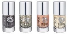 Catrice Million Styles Nail Polishes  facetime / 2012, april, Catrice, collection, March, Million, Nail, Polishes, Styles                 Not yet known whether the collection is also available in the Netherlands would be rolling now in a press release. Nail polish has always been one of my favorite beauty products, I did not have anything for a nail polish blog and effect is completely top. I love flakies and duochromes and I'm very happy with the Million Catrice Styles collection is…
