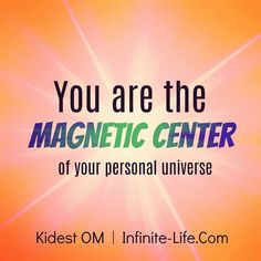 Stay in the states of being that reflect your fulfillment. You are the magnetic center of your personal universe. #inspiration  #empowerment  #spirituality  #loa
